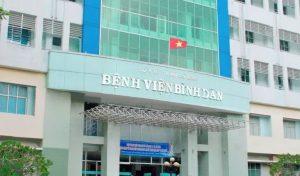 Bệnh viện Bình Dân sài gòn