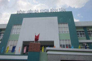 Địa chỉ , bảng giá , lịch làm việc bệnh viện Quận Bình Tân !