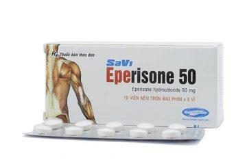 Thuốc Eperisone : Công dụng , liều dùng , mua ở đâu , giá bán